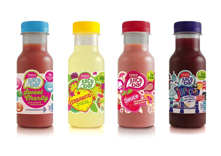 Tesco Juice Bar- Juices and smoothies