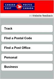 postes canada code postal