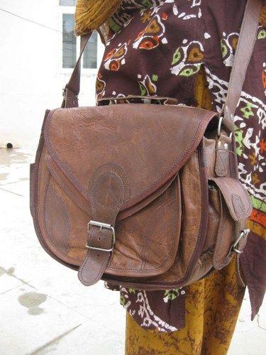 Leather Camera Bag  DSLR-  Purse Gypsy Style Small Handbag Leather Satchel