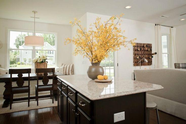 240 best open floor plan images on pinterest home ideas for Open kitchen floor plans with islands