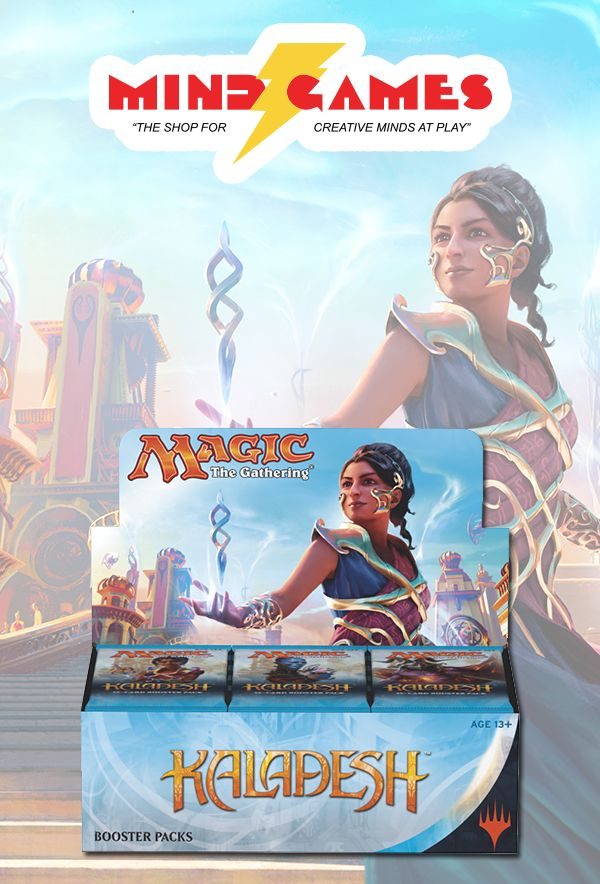 Magic: The Gathering Kaladesh Booster Box is a fully-sealed box containing 36 Kaladesh booster packs. Each booster pack includes 15 cards to add to your collection—and you can expect one of those 15 to be a rare or mythic rare. Some packs even contain a premium foil card!