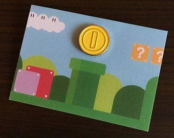 Coin Enamel Pin
