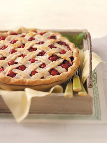 Fresh Cherry Pie Recipe from Taste of Home