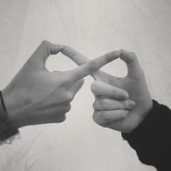 Infinity-but with both left hands to see the rings!!! @Samuel Solomon Solomon T.O. Branch, can we do this? PLEASE!!!