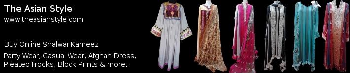 Buy The Asian Style Shalwar Kameez Online