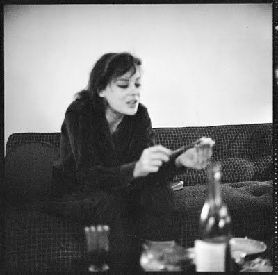 The beautiful and talented British writer and muse Caroline Blackwood