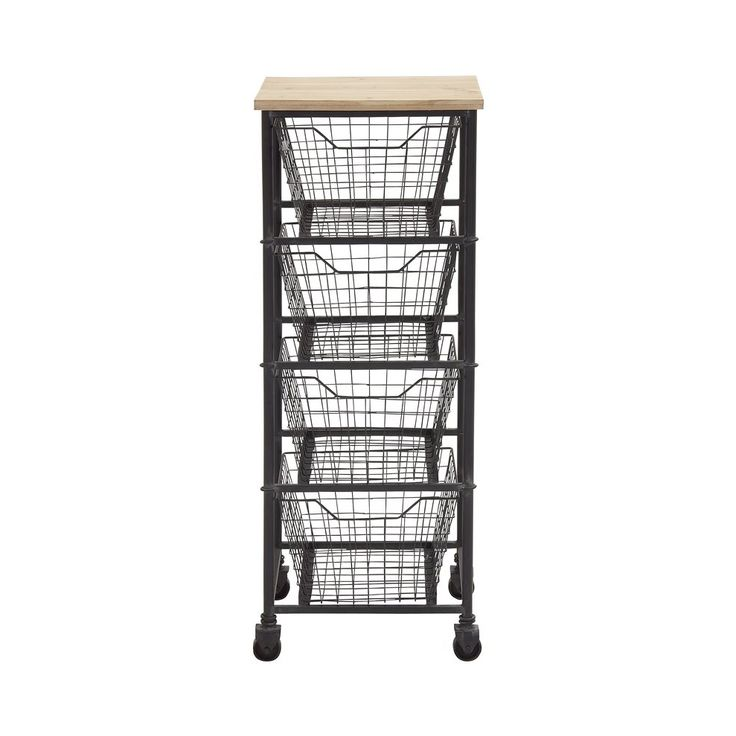 You're going to love the rustic style and incredible versatility of this Anywhere Four-Drawer Metal Storage Cart. A fabulous way to add storage with a small footprint, this cart works in virtually any ...  Find the Anywhere Four-Drawer Metal Storage Cart, as seen in the Vintage Industrial Bath Collection at http://dotandbo.com/collections/vintage-industrial-bath?utm_source=pinterest&utm_medium=organic&db_sku=109165