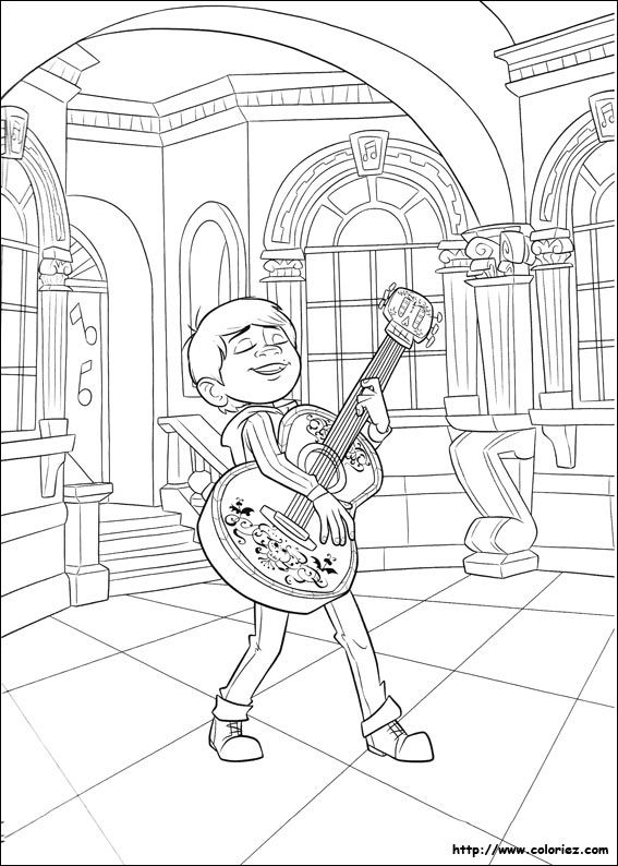 Idea By Funcraft Diy On Coloring Pages Coco Coloring Pages