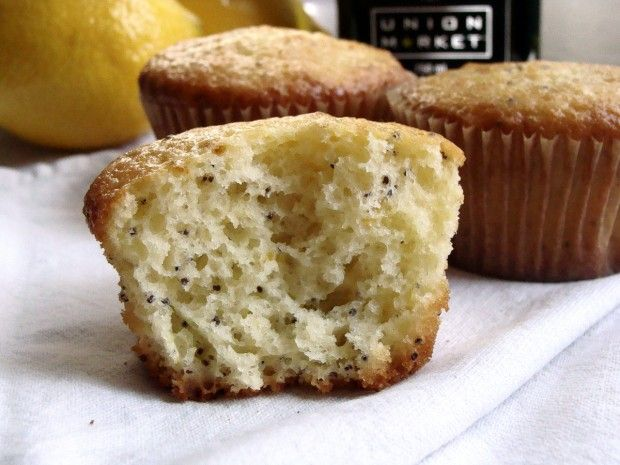 lemon poppy olive oil muffins | Delectable Desserts | Pinterest