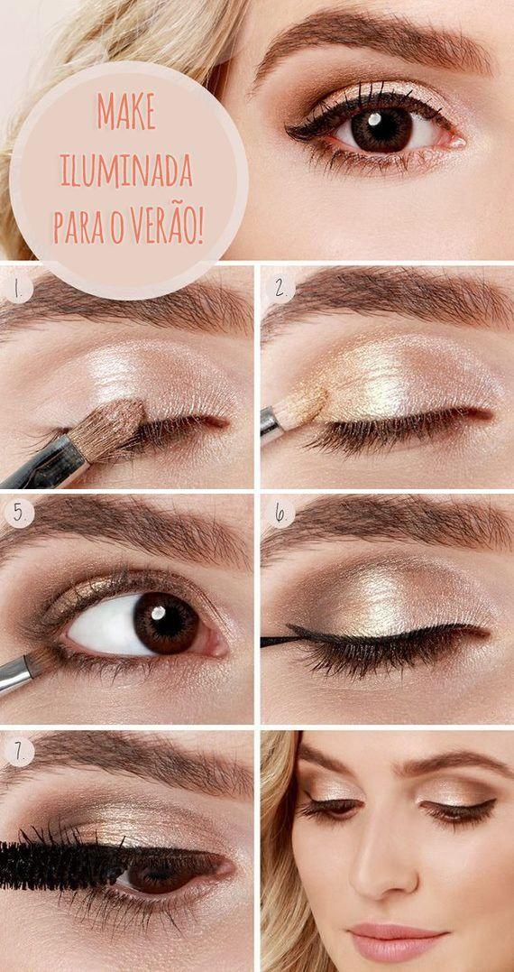 Muito charme! #make #makeup #beauty #beleza #maquiagem #verao