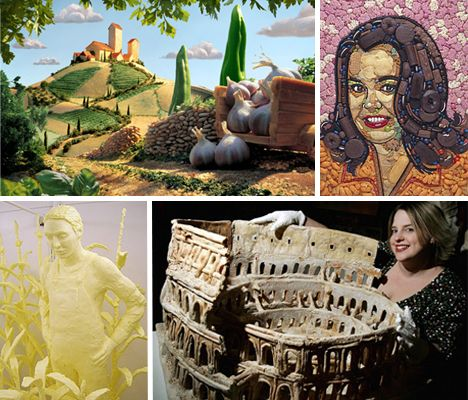 15 food artists and sculptors