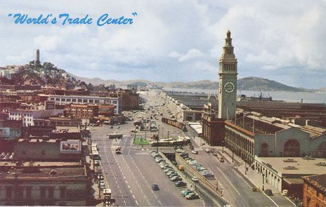 """""""Ferry Building, Western America's International Headquarters for Buyers and Sellers engaged in World Wide Commerce, San Francisco."""" #sanfrancisco"""