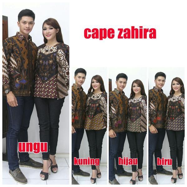 cape zahira sarimbit harga rp. 250.000 blus harga rp. 135.000 Hem size M L XL blus all size LD 98-100 cm Pemesanan Inbok wa 085647595014