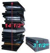 DiscSox® DVD Pro Sleeves - I really need to do this...: Movies Storage, Movie Storage