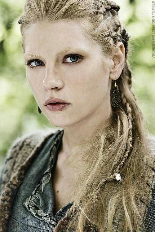 ... Channel, Vikings Lagertha, Curly Hair, Braids Hair, Vikings Hair