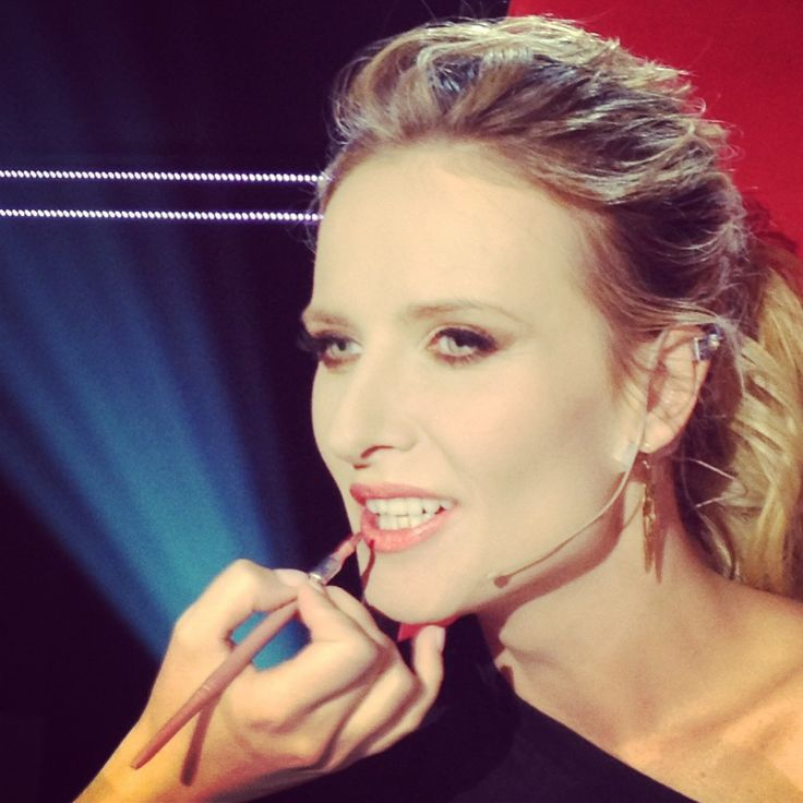 Patrycja Markowska backstage nagrań The Voice of Poland