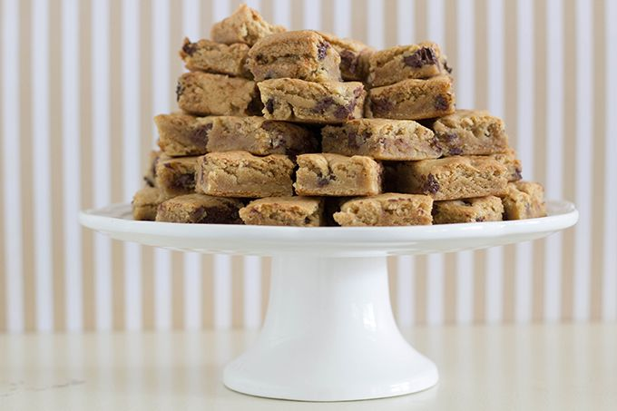 chocolate-chip-cookie-bars Easy peasy! And very moist/deliciously