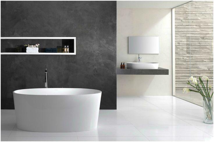 Интерьер ванной комнаты в стиле минимализм #interior #мебель #дизайн #интерьер #дом #уют #декор
