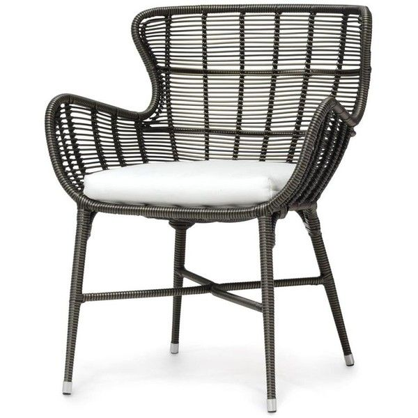 lacey modern classic espresso outdoor chair 1 liked on polyvore featuring home