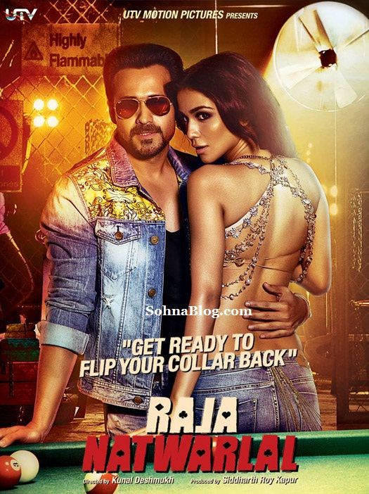 Emran Hashmi starrer upcoming movie Raja Natwarlal's new poster is launch. In this poster Emran Hashmi & Humaima Malick looking proper sizzling as a two strike pose with Pool tabel. In this movie Emran Hashmi doing job as a lead hero.
