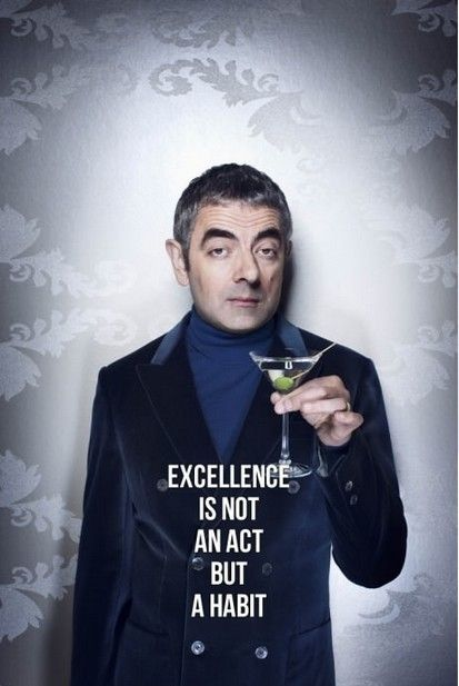 Mr. Bean, by far one of the coolest and most inspirational people.  Ever.