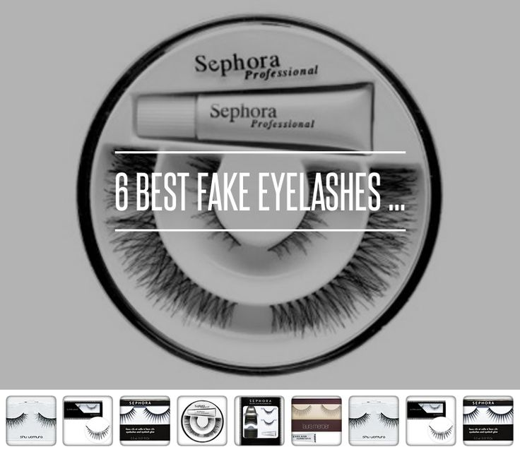 11 Best Fake Eyelashes ... → #Beauty #Eyelashes