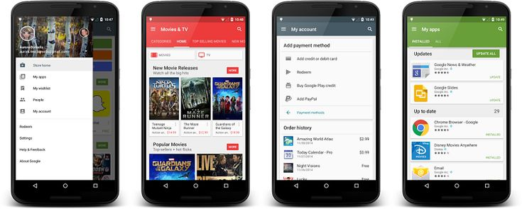 Google Play primeste update la versiunea 5.1! Aduce cateva noutati si o noua pagina My Account. Descarca versiunea 5.1
