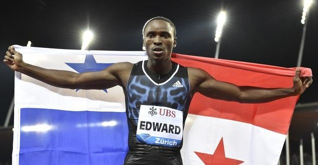Alonso Edward campeón de los 200 metros de la Liga de Diamante de Suiza   A Son De Salsa