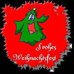 Animierte Weihnachten Gifs: Frohe Weihnachten - Gif-Paradies