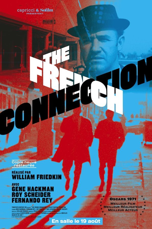 En salles ce mercredi 19 août 2015! Critique sur la ressortie en version restaurée de French Connection de William Friedkin via Capricci