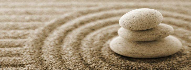 Piedras y arena zen portadas para facebook portadas para - Arena jardin zen ...