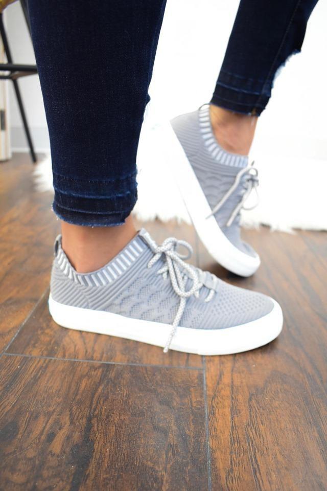 Blowfish Malibu Grey Mazaki Sneaker