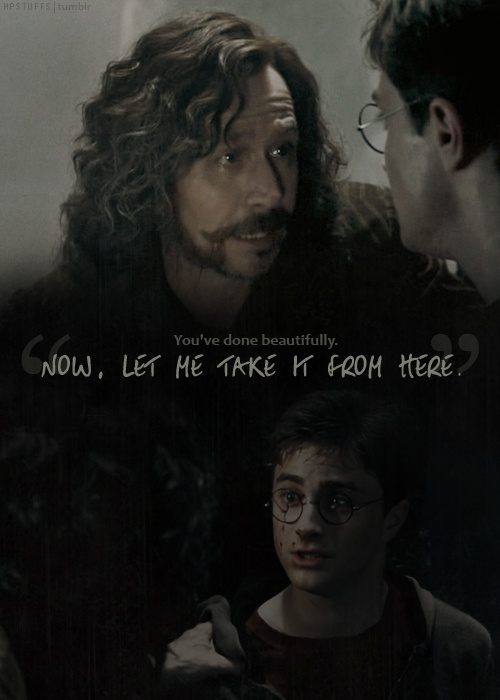 Sirius being an amazing Godfather