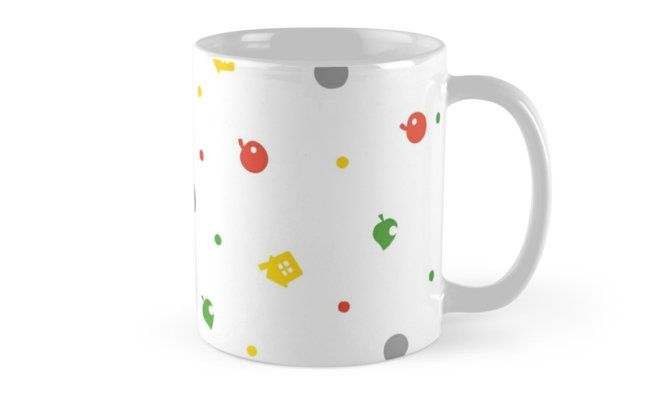 Animal Crossing New Leaf - 3DS Pattern Mugs
