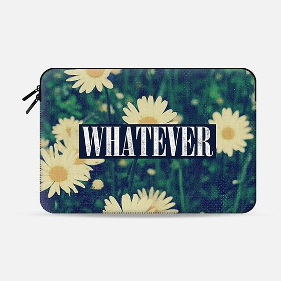 90s Grunge Nirvana Daisy Daisies Floral Flowers Cool Cute Girly Retro Vintage Throwback Macbook Sleeve Design