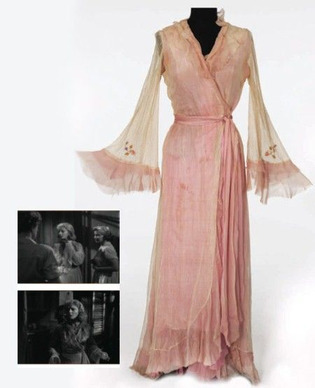 Peignoir worn by Vivien Liegh in A Street Car Named Desire