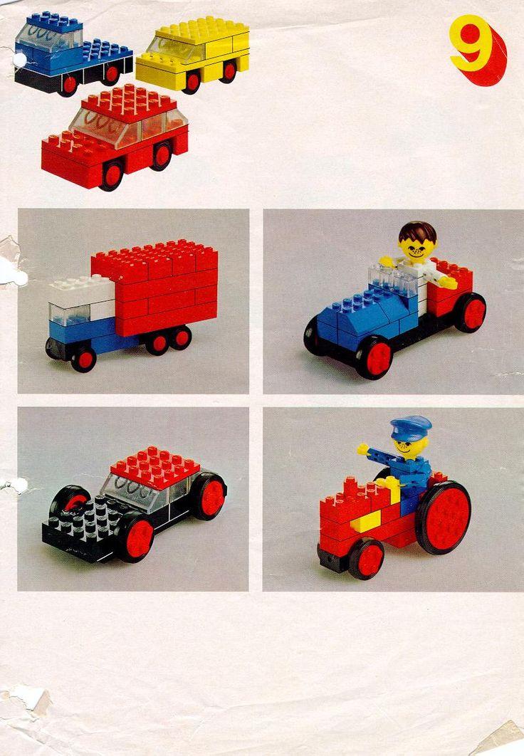 Auto's bouwen van lego 2