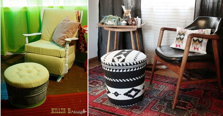 5 Gallow Bucket Ideas Gallon Bucket Ottoman Five