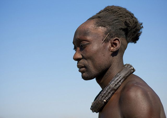 The Secret Of The Himba Men Hairstyle Angola The