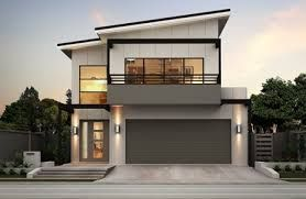 Image result for narrow block house designs brisbane