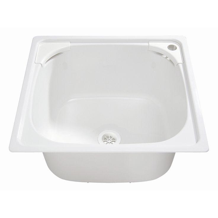 Everhard Flushline White Polymer 45L Drop In Bowl - $157 Bunnings online 2-3-15