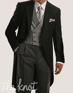 Kleinfeld Men Style: The Morning Suit #groom #formalwear