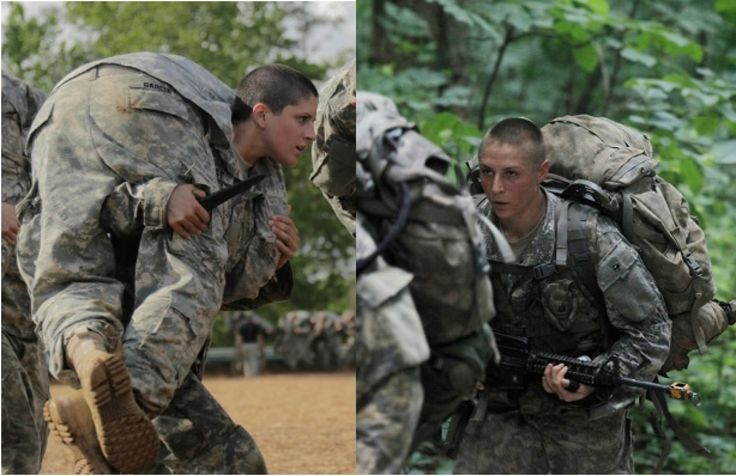 Capt. Kristen Griest (left) and 1st Lt. Shaye Haver (right) will become the first female soldiers ever to graduate from Ranger School on Friday, Aug. 21.