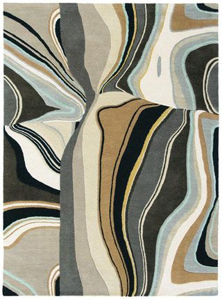 Estella Curve 83801 Rug from the Modern Rug Masters 1 collection at Modern Area Rugs