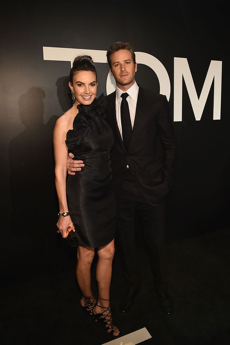 Elizabeth Chambers and Armie Hammer​ - Photo: Courtesy of Tom Ford