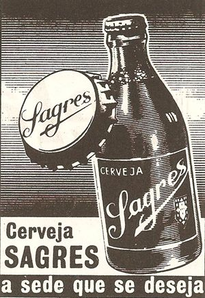 Cerveja Sagres - world class beer...wish I had this poster...sooo cool...