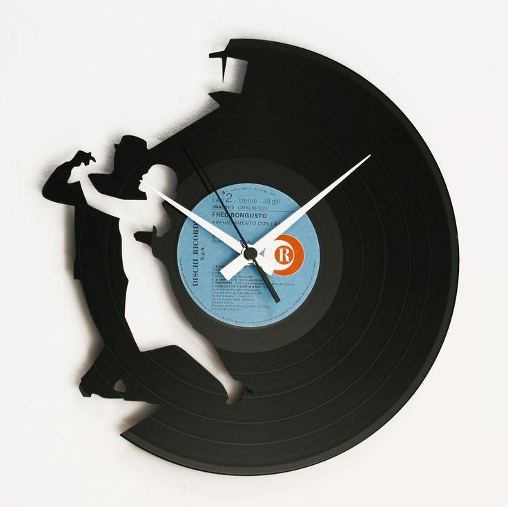 Disc'O'Clock Ceas de perete Tango