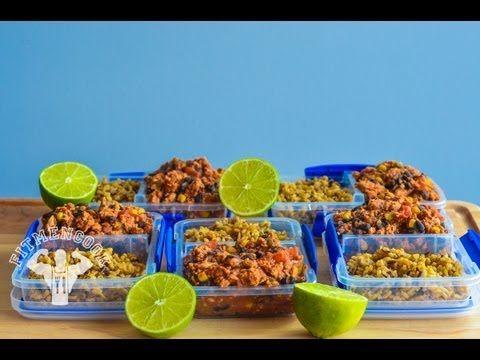 FitMenCook's --> Meal Prep $3 Spicy Turkey Chili