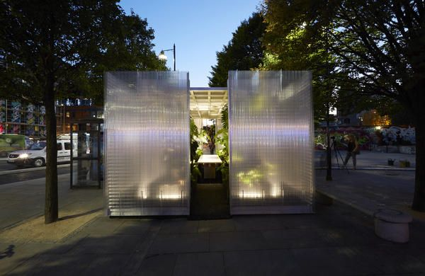 MINI LIVING 'Forests' Installation by Asif Khan :: THE LONDON DESIGN FESTIVAL