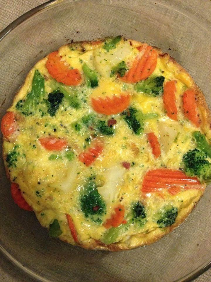 Én kicsi paleo konyhám: Zöldséges frittata